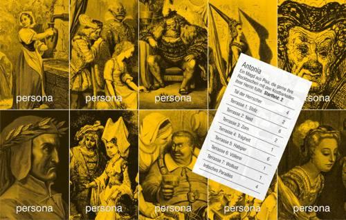 Dantes Reise auf den Läuterungsberg: Biografiekarten