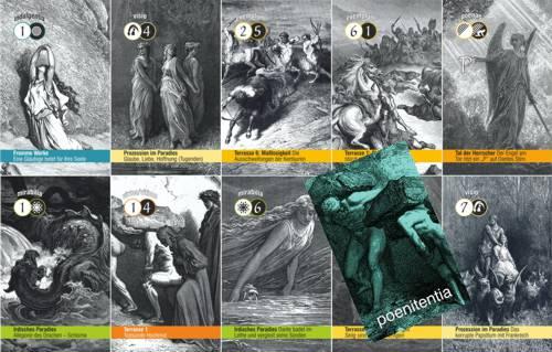Dantes Reise auf den Läuterungsberg: Bußkarten